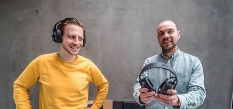 Veel kapotte koptelefoons bij grofvuil, daarom bedachten Dorus en Tom volledig modulaire variant