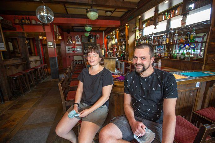 Irish pub Murphy's Gemeenteplein: Uitbaters Wannes Lejeune en Katrien De Bisschop