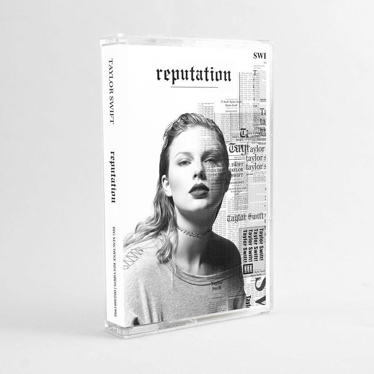 'Reputation' van Taylor Swift.  Beeld RV