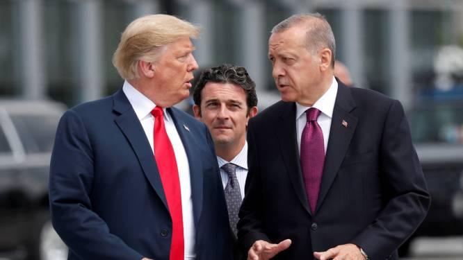 Erdogan dreigt met arbitrage tegen VS als er economische sancties komen