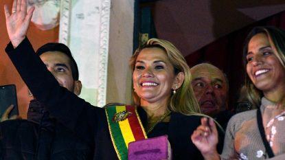 Senatrice Jeanine Añez roept zichzelf uit tot interim-president van Bolivia