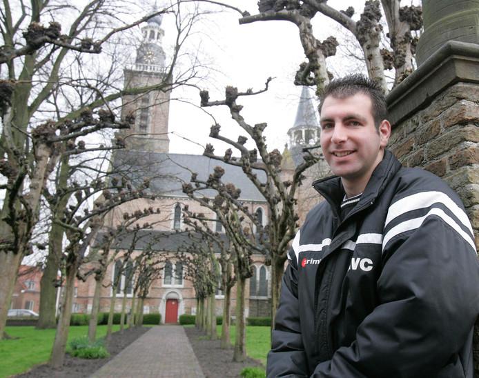 Schoondijke-coach Martin van Vooren.