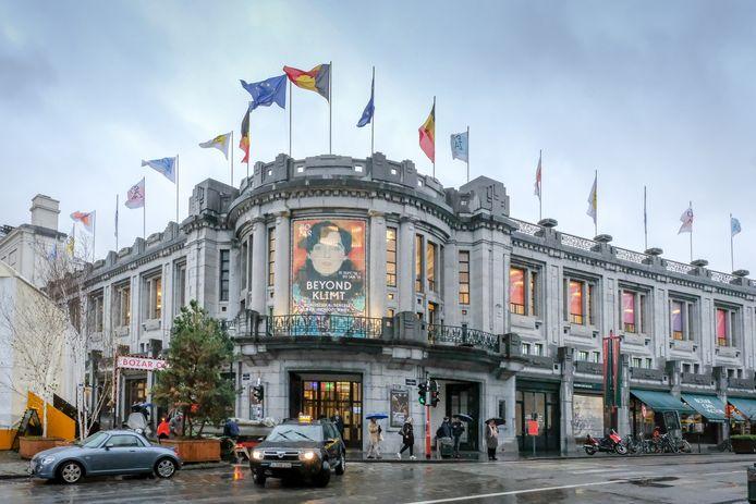 Bozar ten tijde van de Klimt-expo in 2018.