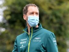 Gefrustreerde Vettel worstelt met bolide Aston Martin