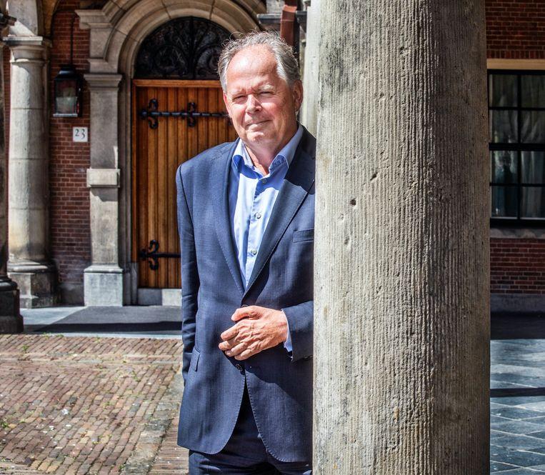 Paul van Meenen van D66: 'Vrijheid van onderwijs is geen vrijbrief voor slecht of onveilig onderwijs.' Beeld Raymond Rutting / de Volkskrant