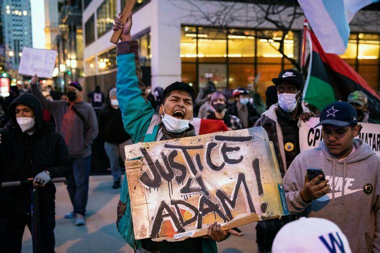 Weer spanningen rond politiegeweld in de VS: Adam Toledo (13) had geen wapen in zijn handen