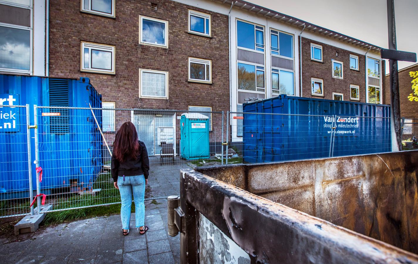 De Verwoldestraat is een van de straten waar de huurders binnenkort hun huizen moeten verlaten.