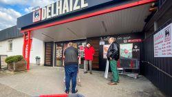 Staking uitgebroken in verschillende supermarkten van Delhaize