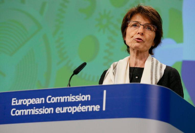 Eurocommissaris Marianne Thyssen. Beeld EPA