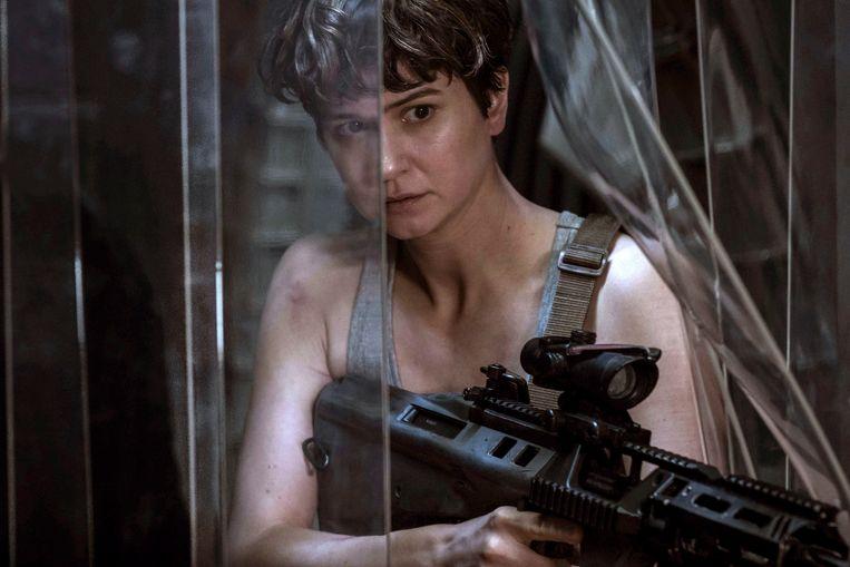 Katherine Waterston in'Alien: Covenant'. Beeld AP