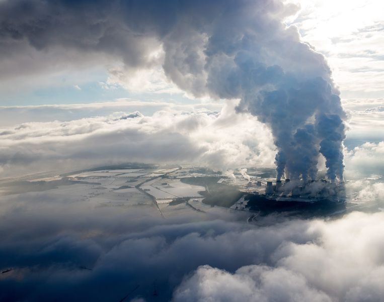 Een kolencentrale van Vattenfall in Janschwalde, Duitsland. Beeld EPA