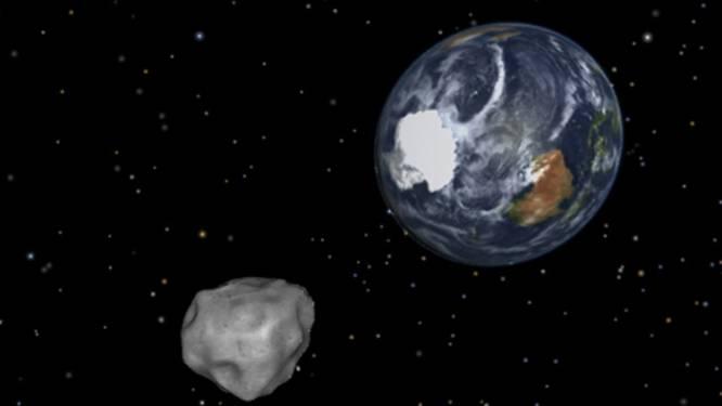 """NASA: """"Asteroïde scheert langs aarde op Halloween"""""""