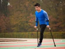 De renner-met-één-been: 'Zonder prothese is bevrijding'