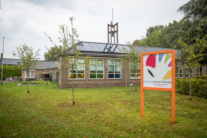 De Jenaplanschool in Hoorn, een buurtschap in de gemeente Heerde.
