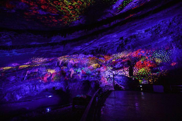 Le spectacle son et lumière a été imaginé par Luc Petit.