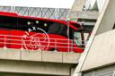 De spelersbus van Ajax.