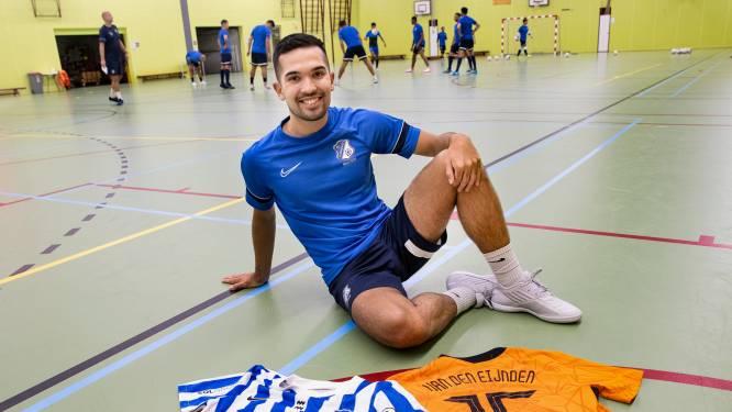 Bijzonder jaar voor zaalvoetballer Dennis van den Eijnden: 'Ik moet zorgen dat ik fit blijf'