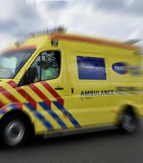 Scooterrijder in botsing met auto in Nijmegen