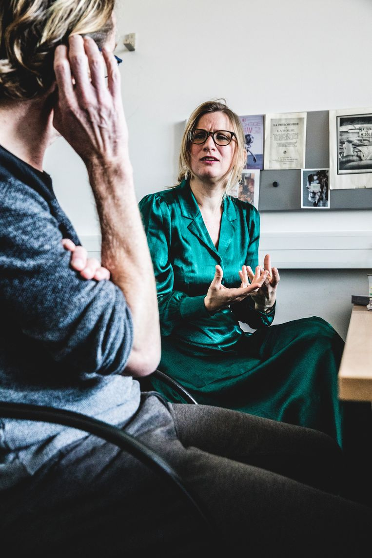 Evelien Delbeke: 'Abortus is niet niks. Je kunt je afvragen of een verlenging van de termijn het juiste antwoord is voor sociaal zwakkere vrouwen.' Beeld Aurélie Geurts