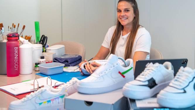 """Ontdek de gepersonaliseerde sneakers van Dipinto: """"Een schoen moet uniek zijn, iets van u"""""""