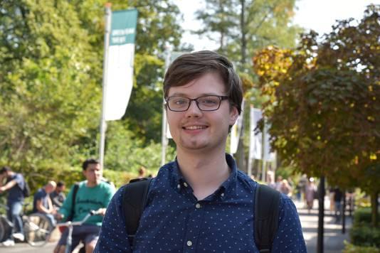 Peter Schroten: 'De studiedruk in combinatie met de afschaffing van de studiebeurs geeft veel stress.'