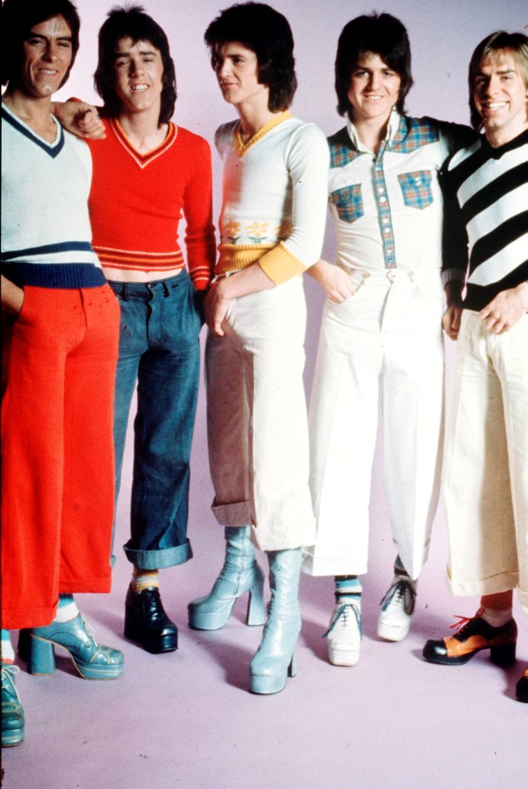 Bay City Rollers. Beeld Getty Images