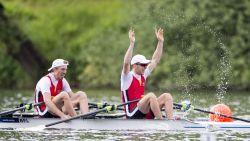 Tim Brys en Niels Van Zandweghe veroveren brons in lichte dubbeltwee op WK roeien