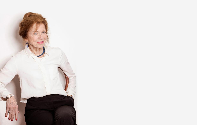 Sonja Barend: 'Ik moest er hard voor werken, maar dat geldt voor alles in het leven'.  Beeld Jacqueline de Haas / Hollandse Hoogte