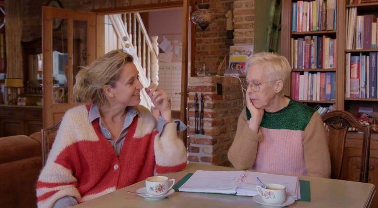Lut Hannes bij Cath Luyten in de speciale aflevering van 'Buurman wat doet u nu?'