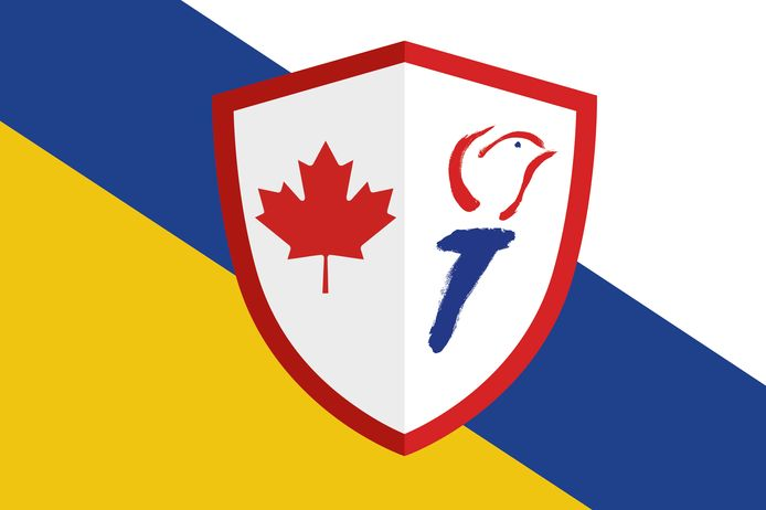 De bevrijdingsvlag voor de gehele gemeente Ommen bestaat uit een wapenschild met het rode esdoornblad ('maple leaf'), symbool voor Canada, en het fakkelsymbool van het nationale comité 4 en 5 mei. De wit-blauw-gele balken vormen de kleuren van de gemeentevlag.