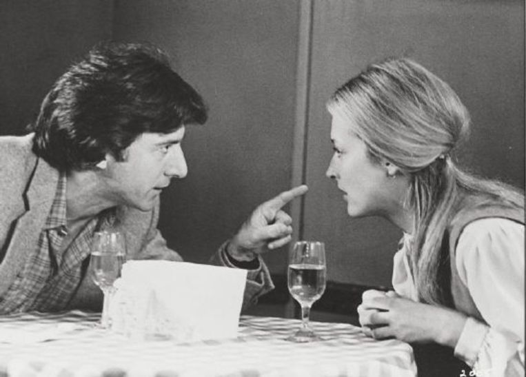 Meryl Streep (r) en Dustin Hoffman in Kramer vs. Kramer (1979).  Beeld Brunopress