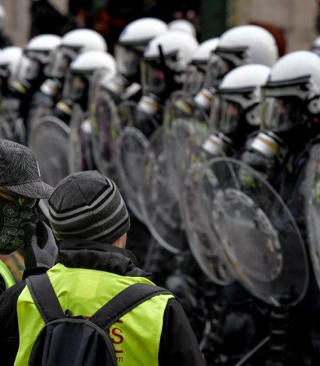 "La police en tort lors d'arrestations de ""gilets jaunes"" à Bruxelles"