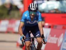 Spaans drama: Valverde (41) valt aan, breekt sleutelbeen en stapt uit Vuelta