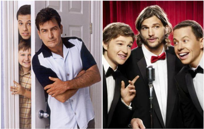 Charlie Sheen werd vervangen door Ashton Kutcher.