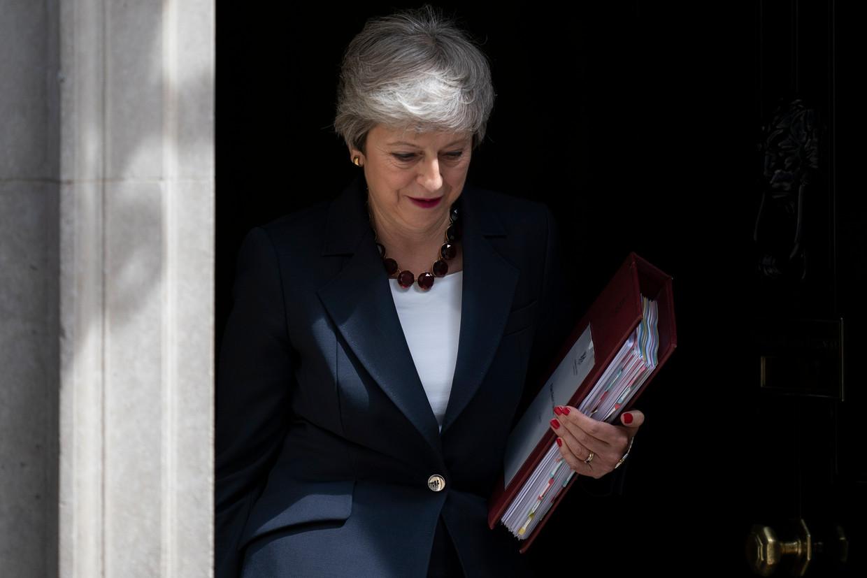 Theresa May Beeld EPA
