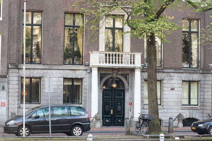 De ambtswoning van de burgemeester op de Herengracht.