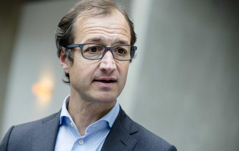 Staatssecretaris Eric Wiebes van Financiën. Beeld anp