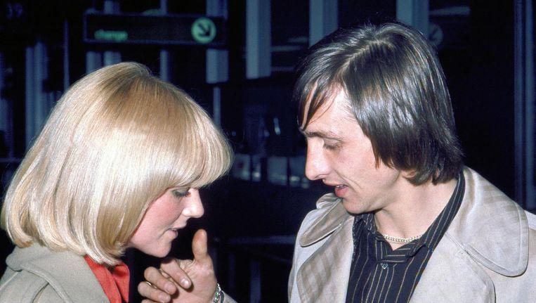 Danny en Johan Cruijff, 27 juni 1974. Beeld anp