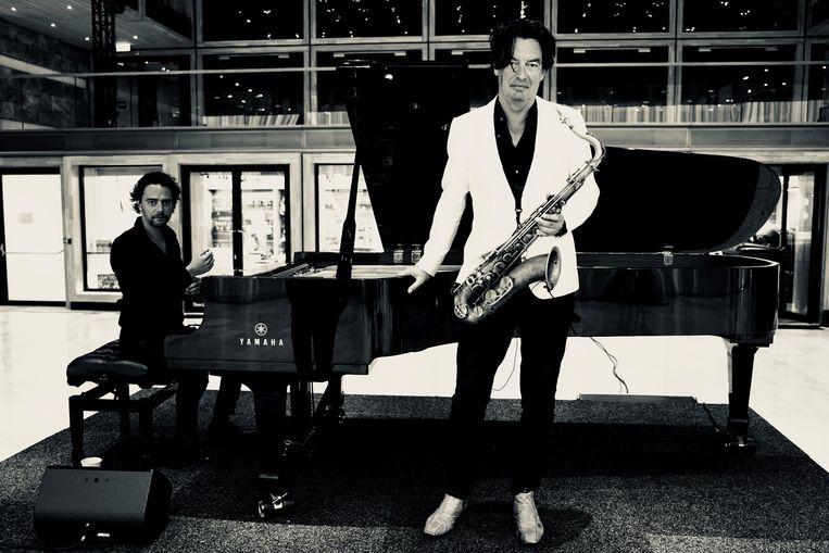 Jazzoptreden op Bimhuis TV Beeld Yuri Honing