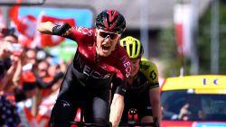 Nederlander Dylan van Baarle juicht in slotrit Dauphiné, Jakob Fuglsang eindwinnaar