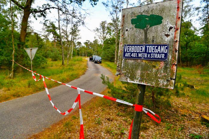 Een dag nadat een tienermeisje in de bossen tussen Valkenswaard en Waalre (foto) was verkracht, pakte de politie de vermoedelijke dader op.