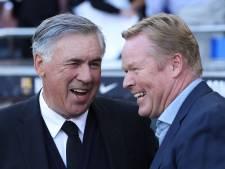 Real-trainer Ancelotti leeft mee met ontslagen Koeman: 'Hij heeft alles gegeven wat hij kon'