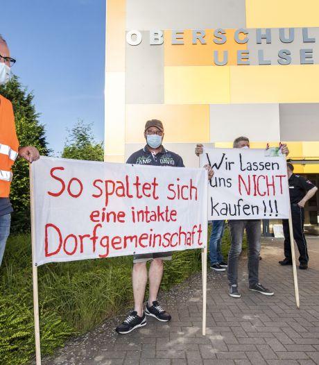 Uelsen kiest voor windpark op de grens; Hardenberg alert