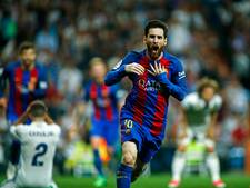 Briljante Messi leidt Barcelona met 500ste goal langs Real Madrid