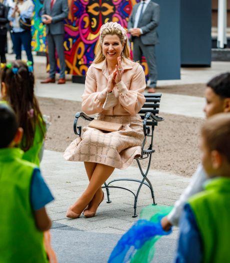 Koningin Máxima vol lof over muzikaal Dordrecht