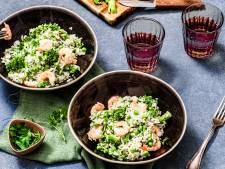 Wat Eten We Vandaag: Kokosrijst met garnalen
