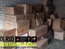Vondst zwaar illegaal vuurwerk en hennep in garagebox Roosendaal, Roosendaalse (20) aangehouden