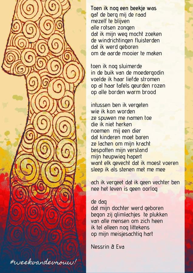 Oostende zet Internationale Vrouwendag in de kijker met een pakkend gedicht.
