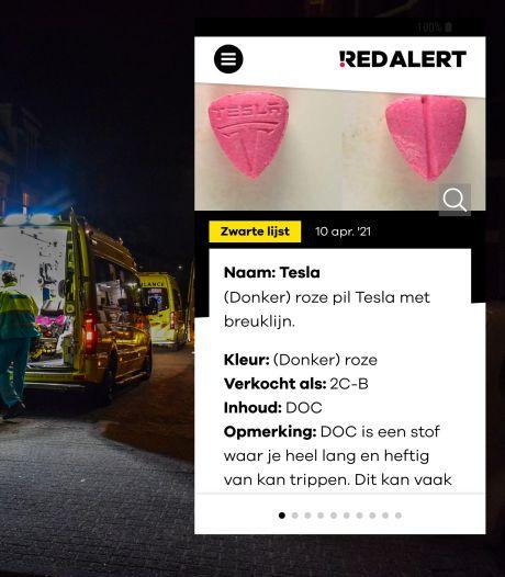 Alarm om gevaarlijke Tesla-pil die in omloop is in Gelderland: 'Groot risico op ziekenhuisopname'