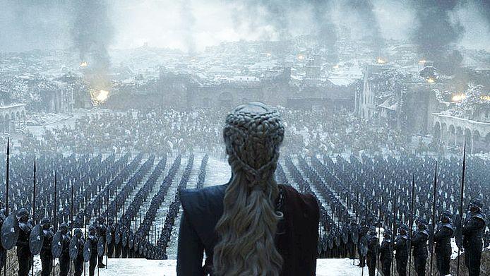 Dit was de finale van 'Game of Thrones'.